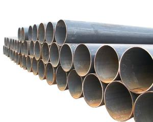 China Oil refinery ERW Welded Steel Pipes outside dimension 21.3mm-660mm APL 5L Gr.B plain ends on sale