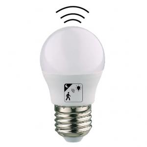 China Toilet E27 LED Light Bulb With Motion Sensor , 5w E27 Motion Sensor Bulb on sale