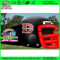 China Giant outdoor used inflatable sports tunnel inflatable football helmet tunnel tent on sale