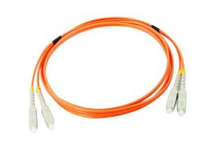 China SC / PC - SC / PC- MM- DX - 3.0 - 1M Fiber Optic Patch on sale