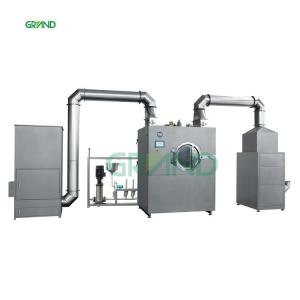 China Stainless Steel GMP Automatic Film Coating Machine Tablet Coating Machine on sale