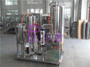 China Industrial Coke Cola Carbonated Drink Mixer Machine With 3000L Three Tanks on sale