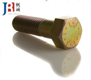 China Hex Excavator Bolt and Nuts 1A2029 / 1A8063 / 2A1538 for Wear Part on sale