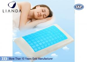China Summer Fashion Silicone memory foam Cooling Gel Pillow summer season products on sale