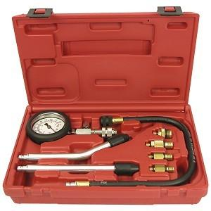 China Gas Cylinder Compression Tester Kit for Gas Engines Auto Repair Tool on sale