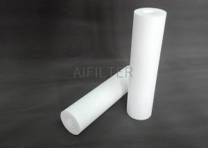 China 10 inch 1/5/10 micro PP sediment cartridge filter for RO water purifier system on sale