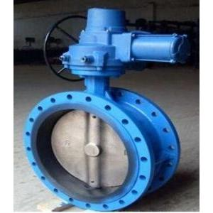 China Electric Flanged Butterfly Valves DN450 With Motor 230V 50Hz,A215 WCB,CI on sale