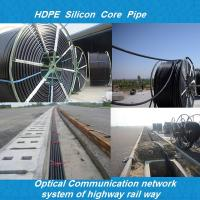 hdpe duct/hdpe siliconed pipe/Plb HDPE Fiber Optic plastic pipe for silicon