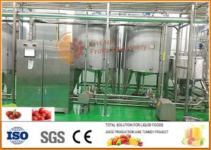 China Automatic Beverage Processing Plant machinery / Jujube Processing Line on sale