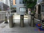 Porta automática da barreira da aleta do metro/metro com sistema conduzido do lembrete e do controlo de acessos