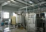 Flavoured Yogurt Processing Line Equipment / Automatic Drinking Fresh Fruit Yogurt