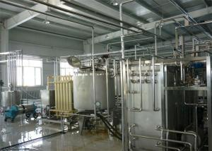 China Automatic Drinking Fresh Fruit Yoghurt / Flavoured Yogurt Production Line Equipment on sale