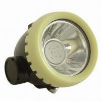 1.2Ah LED Cordless Mining Cap Lamp