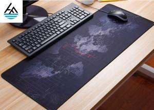 China Rubber Large Computer Mouse Pad Non - Slip Waterproof Keyboard Mouse Mat on sale