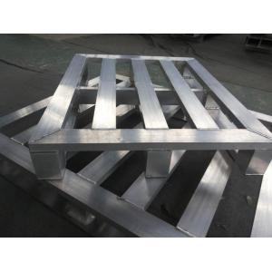 China Reusable Aluminium Welding Stackable Pallet Warehouse Rack Multi-Level Type on sale