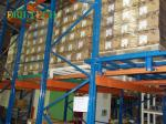 EffectivePush Back Racking Steel Racking And Shelving  High Utilization Of Space