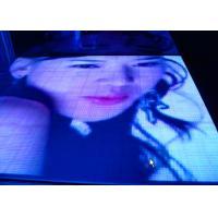 Colorful Mobile Led Video Dance Floor , LED Light Up Dance Platform For Party