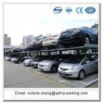 Space Saver Auto Parking System Solutions Two Post Car Parking Lift for Sale