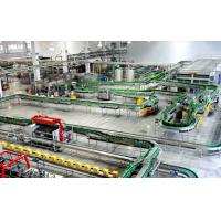 China Glass Bottle Beer Production Line Packing Conveying Process 12 Months Warranty on sale