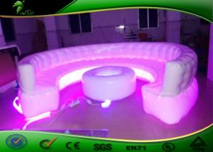 ... Quality Durable Inflatable LED Sofa Model With For Pub / Inflatable  Furniture Sets For Adults For ...