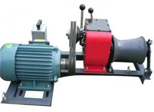 China Tower Erection 1 Ton Winch , High Versatility Winch Machine For Cable Pulling on sale