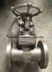 China ASTM Forged Steel Flanged Gate Valve on sale