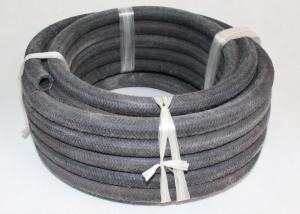 China Manguera de aire de goma trenzada de la fibra externa, manguera de aire retractable negra on sale