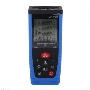 China High Accuracy Digital Telemetro Laser Distance Meter Bubble Level Tape Measure Diastimeter on sale