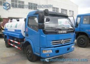 China Dongfeng Duolika 4 X 2 5000 L Storage Water Tanker Truck 100 hp 2 Axles on sale