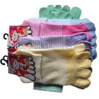 cute five toe socks