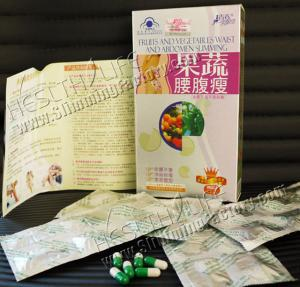 China Fruit & Vegetable Capsule, Herbal Weight Loss Slimming Product on sale