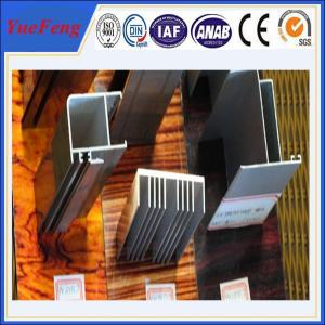 China aluminum suppliers 6061 t6 / sand blasted aluminium extrusion on sale