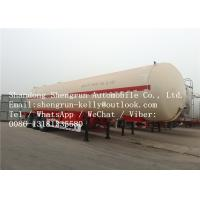 Safety 13.56 mm Tank Thick LPG Semi Trailer with 58.8 cbm Loading capacity