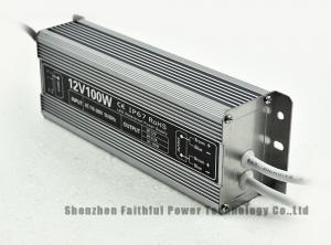 Quality IP67 Constant Voltage 100W 12V LED Switching Power Supply LED Grow Light Power Supply for Strip for sale
