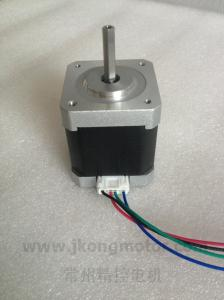 China Electronic 42mm 2 Phase Stepper Motor , Name 17 Step Motor Torque on sale