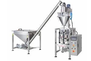 China Stainless Steel Protein Powder Packing Machine Screw Elevator Feeding on sale