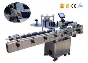 China Plastic / Glass Bottle Sticker Labeling Machine , Automatic Labeling Equipment/ Machine on sale