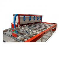 China 595*595/603*603 PVC Gypsum Board Cutting Machine With Dusty Exhausting System on sale