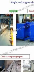 China Light Pole Production Line on sale