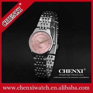 China China Watch Supplier High Quality Watches Blue Pink Japan Movt Stainless Steel Watch Lady Watches on sale