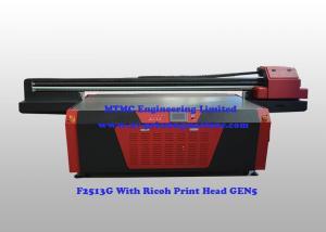 China Ricoh GEN5 Flatbed UV Laser 3D Printer , 3D Printing Machine 5 / 7 Color on sale