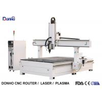 China Styrofoam Model Engraving 4 Axis CNC Router Machine With T-slot Table HSD Spindle on sale
