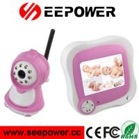 2.4GHz Pink Wireless Two Way Speaking Night Vision Digital RF Baby Monitor