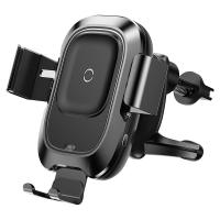 Sensor Qi Car Wireless Charger Air Vent Mount Mobile Phone Holders with Intelligent Infrared