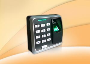 China Security Door Simple Fingerprint Access Control System With Smart Card Reader on sale