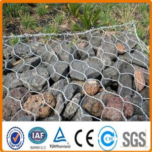 China Galvanized PVC Welded Gabion Box/Hot Dipped Gabion Basket With Best Price on sale