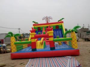 China Safe Children'S Inflatable Jump House Bouncy Bouncy Inflatables For Playground on sale