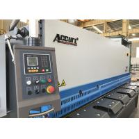 China Attractive Design 25x2500mm Hydraulic Shearing Machine With Estun E21S NC System on sale