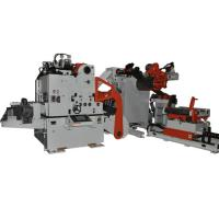 Heavy Duty Material Frame 3 In 1 Feeder For Coil Unwinding , Automatic Feeding Line