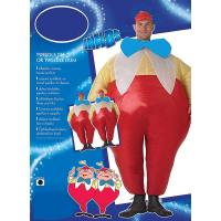 China Fancy Dress Lyjenny Adult Inflatable Costumes Tweedle Dee And Tweedle Dum Costumes on sale